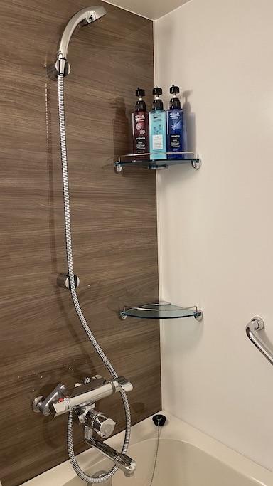 ホテルランタナ シャワー