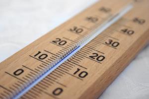 室内外の温度差