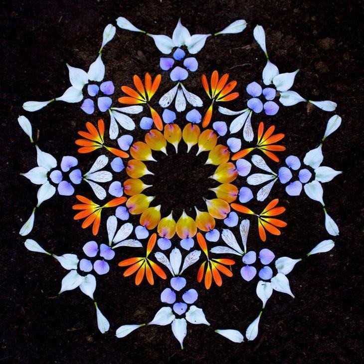 danmala mandalas de flores kathy klein