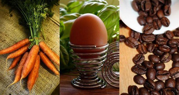 Conselho de Vó: A Cenoura, o Ovo e o Café...