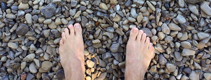 doença nos pés