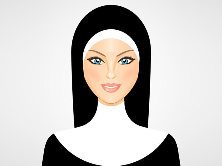 Piada: A conversa de Deus com uma religiosa loira