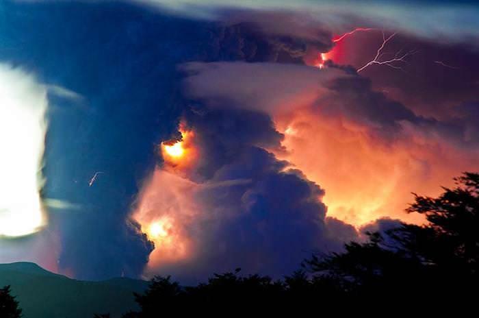 fotos de vulcões
