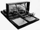 Instrumento antigo polígrafo