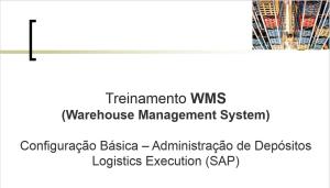 Configuração WM SAP: Passo a Passo Manual