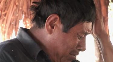 Screenshot do documentário À Sombra de um Delírio Verde