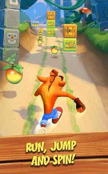 Novos jogos iOS para Android 2020 Crash Bandicoot Mobile