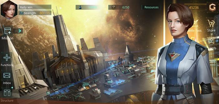 Novos jogos iOS para Android Stellaris Galaxy Command