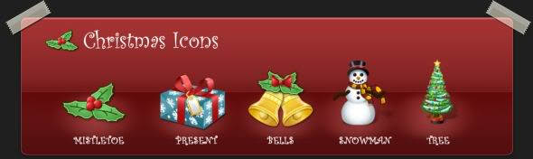 Christmas Icons 2006 - Clever Icons
