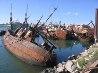 Navio Encalhado