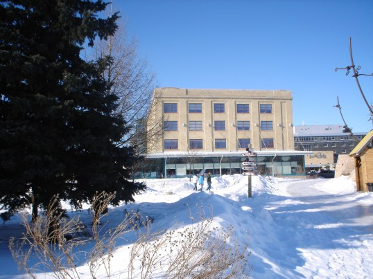 Neve em Winnipeg