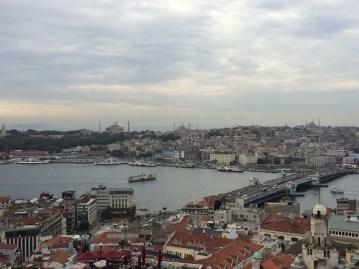 Vista da Torre Galata