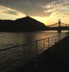 Pôr do sol em Budapeste, Hungria