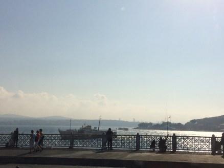 Ponte Galata, Istambul, por Packing my Suitcase.