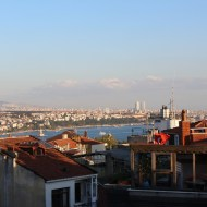 Vista do hotel Frida Suites, Istambul, por Packing my Suitcase.