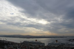 Vista da Torre Galata, Istambul, por Packing my Suitcase