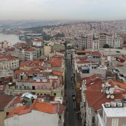 Vista da Torre Galata, Istambul, por Packing my Suitcase.