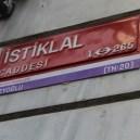 Avenida Istiklal, Istambul, por Packing my Suitcase.