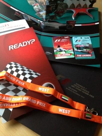 Grande Prêmio de Fórmula 1 em Abu Dhabi, por Packing my Suitcase.