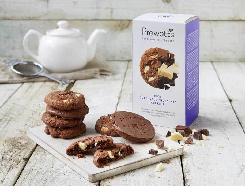 Cookies Ricas em Chocolate a Quadruplicar