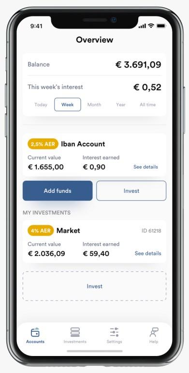 iBAN Wallet App @ Savings4Freedom