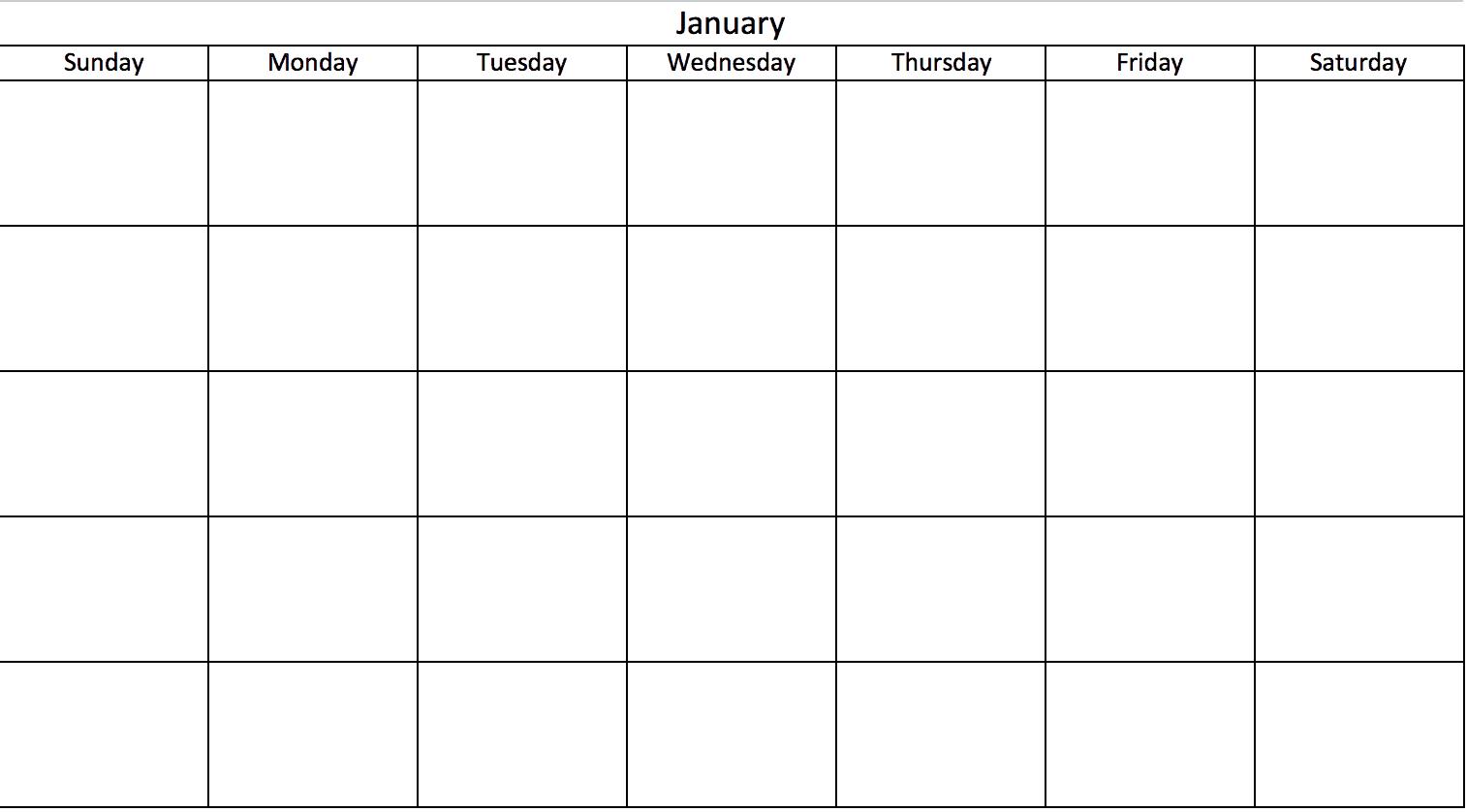 Faca Um Calendario De No Excel Inclui Modelos Gratuitos
