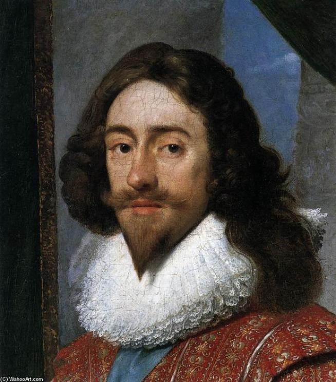 Daniel-I-Mijtens-Charles-I-King-of-England-detail-2- Conheça a Verdadeira História do Natal