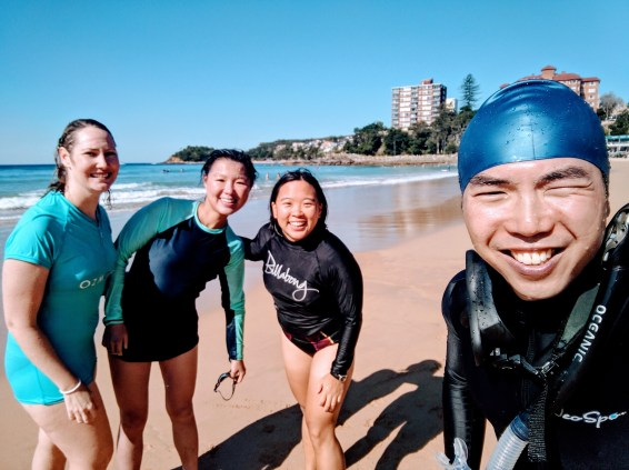 We did it - Manly to Shelly Swim
