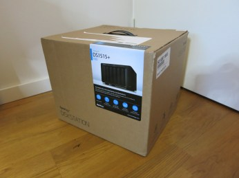 Synology DS1515+ arrives
