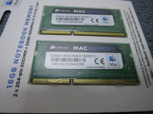 Corsair CMSA16GX3M2A1600C11, 8GB SO-DIMM