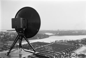 1950's TV link dish - a bit overkill for ESP8266, maybe..