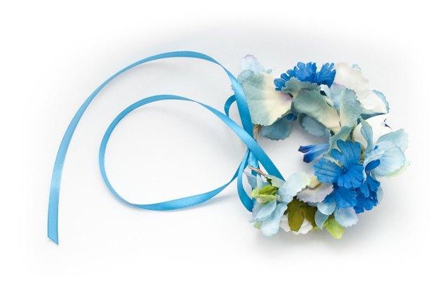 wianek na rękę błękitna nuta Ptaszarnia