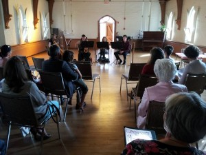 Hurly Burly performing at Peterborough Suzuki School AGM, 2013