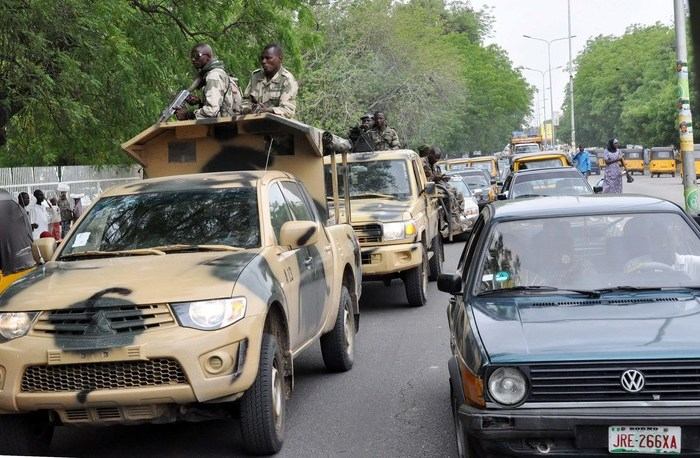 Nigerian military calls soldiers' escape to Cameroon 'tactical manoeuvre'