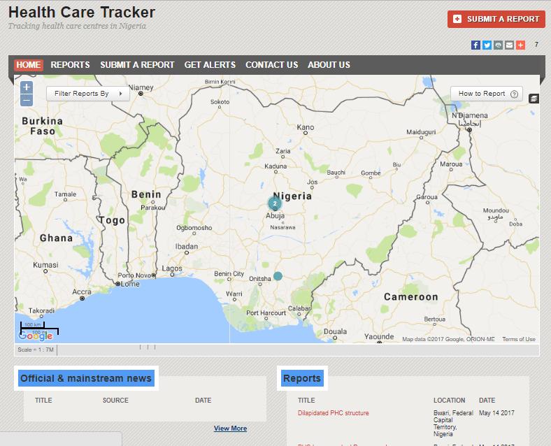 Health Care Tracker