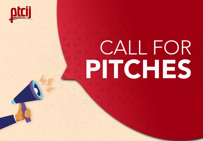 Call for Pitches