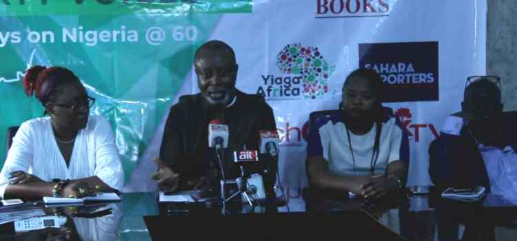 AFRICMIL, PT Books, YIAGA Africa, OakTV, Sahara Reporters and TechHerNG launch Sixty Years, Sixty Voices book project