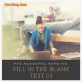 FILL IN THE BLANK PRACTICE TEST 03