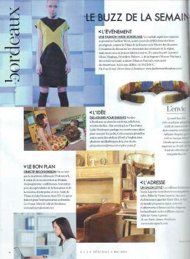 ELLE Magazine semaine du 2 mai 2014