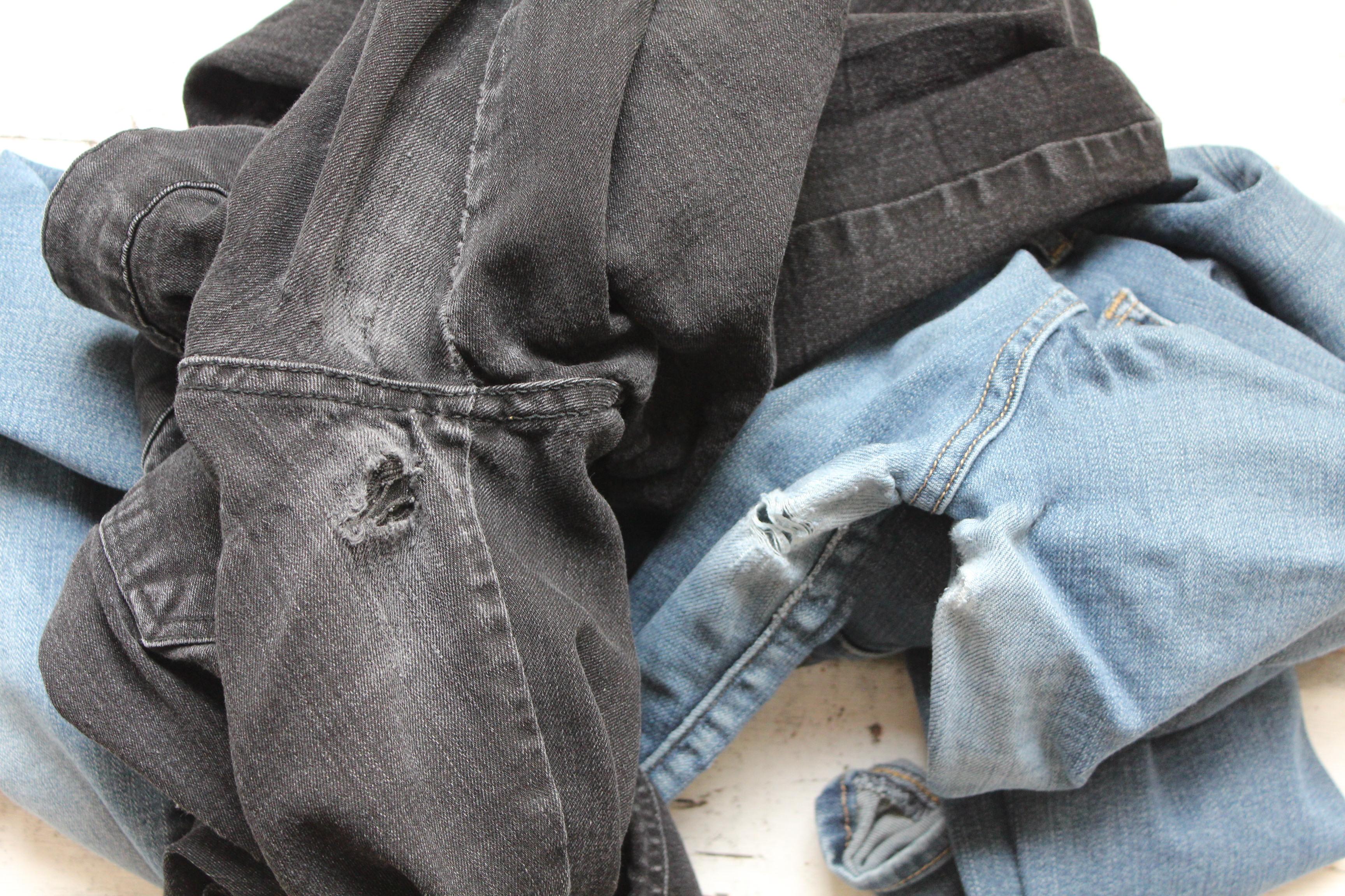 Comment Trouer Un Jean Elegant Jeans With Comment Trouer