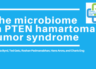 The microbiome PTEN hamartoma tumor syndrome