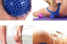 9cm PVC Spiky Massage Ball Massagers 9cm PVC Spiky Massage Ball