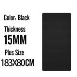 15mm 183x80 Black