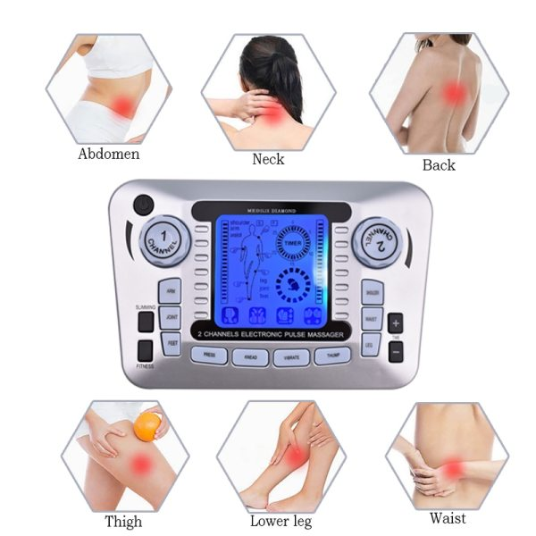 Ergonomic Handheld EMS/TENS Machine Physiotherapy Ergonomic Handheld EMS/TENS Machine