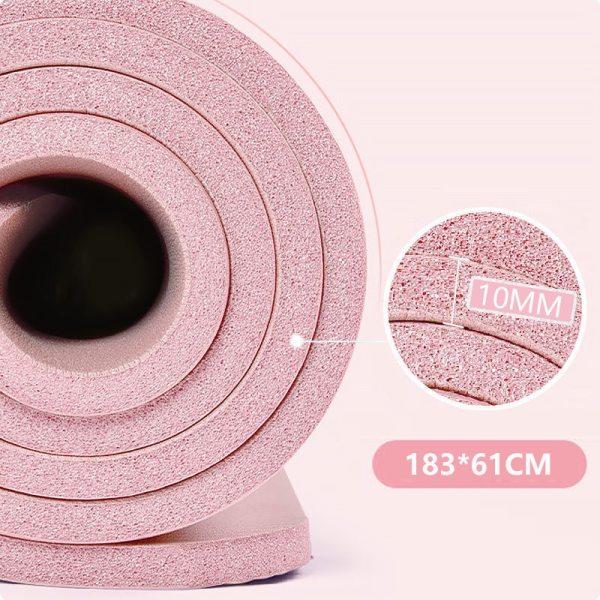 10mm thick Fitness Mat Fitness 10mm thick Fitness Mat