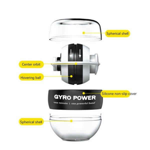 Self-starting Gyro Fitness Self-starting Gyro