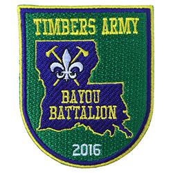 Timbers Army Bayou Battalion