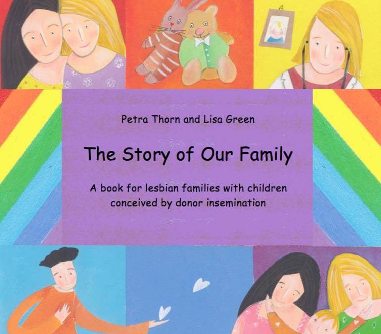 Book for children conceived by donor insemination growing up with their lesbian parents