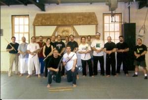 Kitchener, Ontario Seminar hosted by Stefan Barton Sensei circa 2008