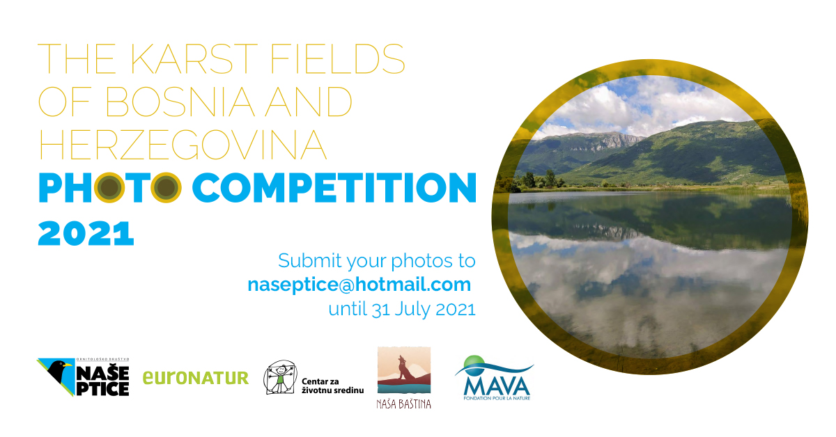 """The begining of photo competition """"Karst Fields of Bosnia and Herzegovina 2021"""""""